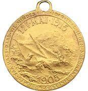 Medal - Constitution Day Christian Michelsen – reverse
