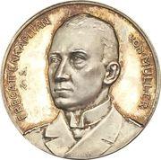 Medal - WWI Fregattenkapitän Karl von Müller and the sinking of the SMS Emden – obverse