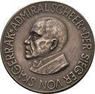 Medal - Admiral Scheer and his victories at Skagerrak – obverse