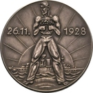 Medal - Admiral Scheer and his victories at Skagerrak – reverse
