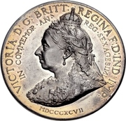 Medal - Queen Victoria Diamond Jubilee – obverse