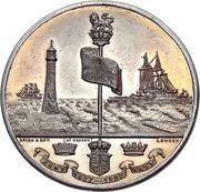 Medal - Queen Victoria Diamond Jubilee – reverse