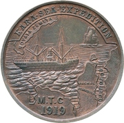 Medal - Kara Sea Expedition and the SS Baymingo – obverse