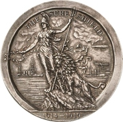 Medal - Naval successes during WWI – obverse