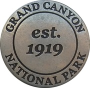 Token - Grand Canyon National Park (Mather Point) – reverse