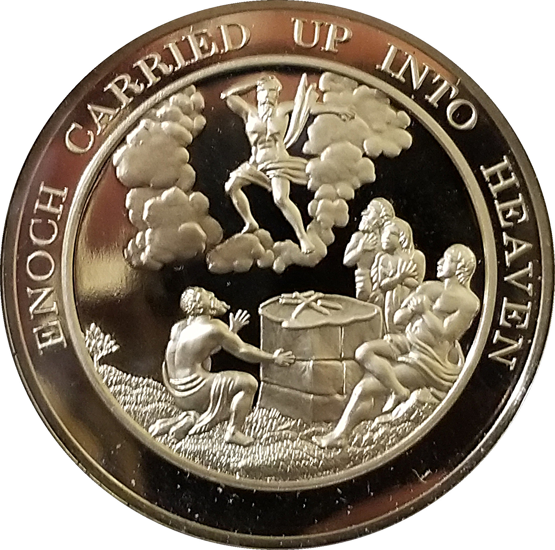 Thomason Medallic BIBLE 32 CHILDREN OF ISRAEL'S TRAVELS FROM EGYPT Franklin