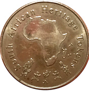 South African Heritage Token - Southernmost Tip of Africa – obverse