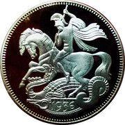 1 Crown - Edward VIII (Pattern) – reverse