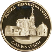 Token - Royal Observatory Greenwich – obverse