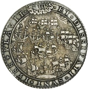 Medal - Defeat of the Spanish Armada – obverse