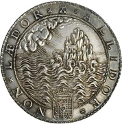 Medal - Defeat of the Spanish Armada – reverse