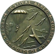 Medal - 50th anniversary of the Angolan military aviation – reverse