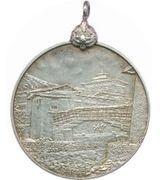 Medal - First king of Bhutan Ugyen Wangchuck – reverse