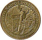 Monnaie de Paris Tourist Token - Saint-Cirq Lapopie – obverse