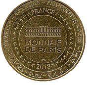 Monnaie de Paris Tourist Token - Saint-Cirq Lapopie – reverse