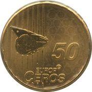 50 Europ Ceros (Faroe Islands Euro Fantasy Token) – reverse
