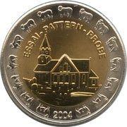 2 Europ (Faroe Islands Euro Fantasy Token) – obverse