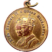 Medal - George VI (Victory Europe-Pacific 1945; Melbourne City) – obverse
