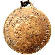 Medal - Elizabeth II (Royal Visit 1954; Victoria) – obverse