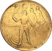 Prize medal - 400m Track and field – obverse