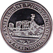 Token - Europe Collection Memodaille (Valkenburg - Kasteelruïne Fluwelen Grot) – obverse