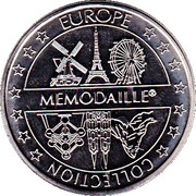 Token - Europe Collection Memodaille (Valkenburg - Kasteelruïne Fluwelen Grot) – reverse