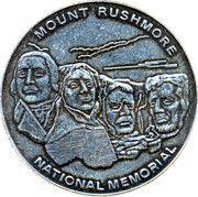 Token - Mount Rushmore National Memorial – obverse