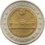 2 (Germany Euro Fantasy Token; Berlin) – obverse