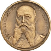 Medal - Grand admiral Alfred von Tirpitz battle for freedom of the seas – obverse