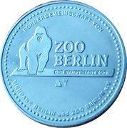Token - Berlin Zoo (Jaguar) – reverse