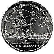 1 ECU - Beatrix (Lighthouses) -  reverse