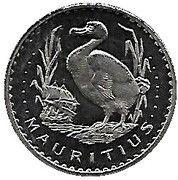 1 ECU - Beatrix (Mauritius) -  reverse