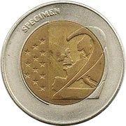 2 (Germany Euro Fantasy Token; Berlin) – reverse
