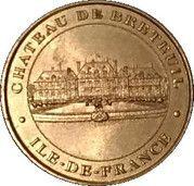 Monnaie de Paris Tourist Token - Ile de France (Château de Breteuil) – obverse