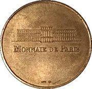 Monnaie de Paris Tourist Token - Ile de France (Château de Breteuil) – reverse