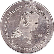 Dutch Heritage Collectors Coin - Madurodam – reverse