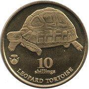 10 Shillings (Leopard Tortoise) – reverse