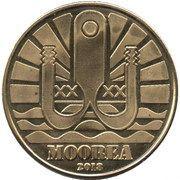 1 Dollar (Moorea) – obverse