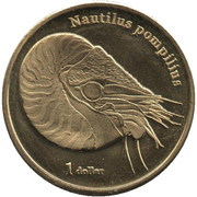 1 Dollar (Moorea) – reverse