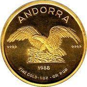 1 oz Gold (Gold Eagle) – reverse
