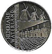 ECU - Beatrix (Netherlands - Land of Water) -  reverse
