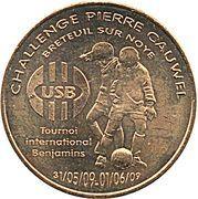 Monnaie de Paris Tourist Token - Breteuil sur Noye (Challenge Pierre Cauwel 2009) – obverse