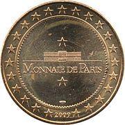 Monnaie de Paris Tourist Token - Breteuil sur Noye (Challenge Pierre Cauwel 2009) – reverse