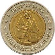2 (Germany Euro Fantasy Token; Schleswig-Holstein) – obverse