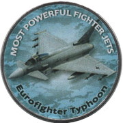 1 Shilling (Eurofighter Typhoon) – reverse