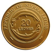 20 Leones (Unauthorized issue) -  obverse