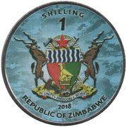 1 Shilling (Alkizuki class) – obverse