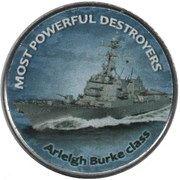 1 Shilling (Arleigh Burke class) – reverse