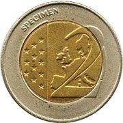 2 (Germany Euro Fantasy Token; Schleswig-Holstein) – reverse