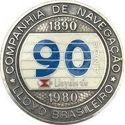 Medal - 90th birthday of the Lloyd Brasileiro – obverse